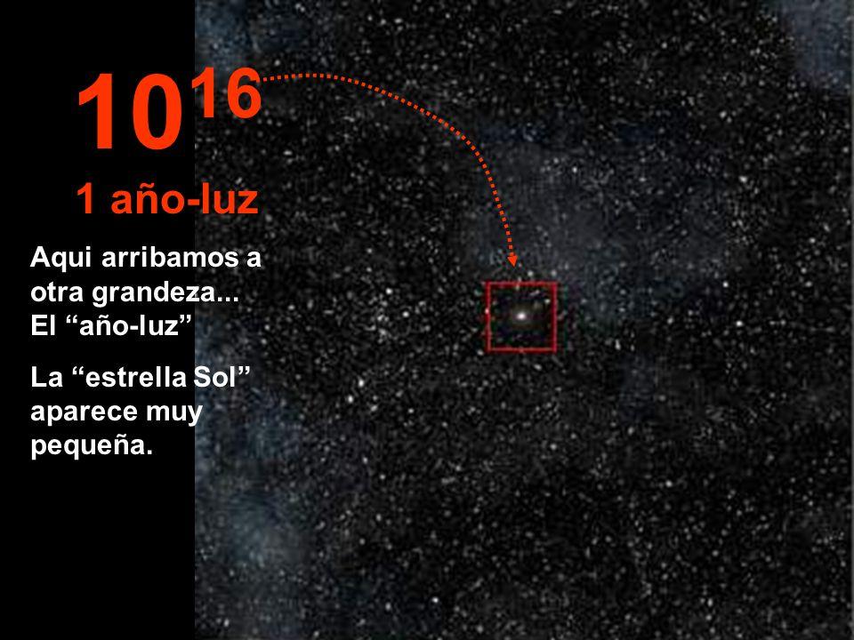 1016 1 año-luz Aqui arribamos a otra grandeza... El año-luz