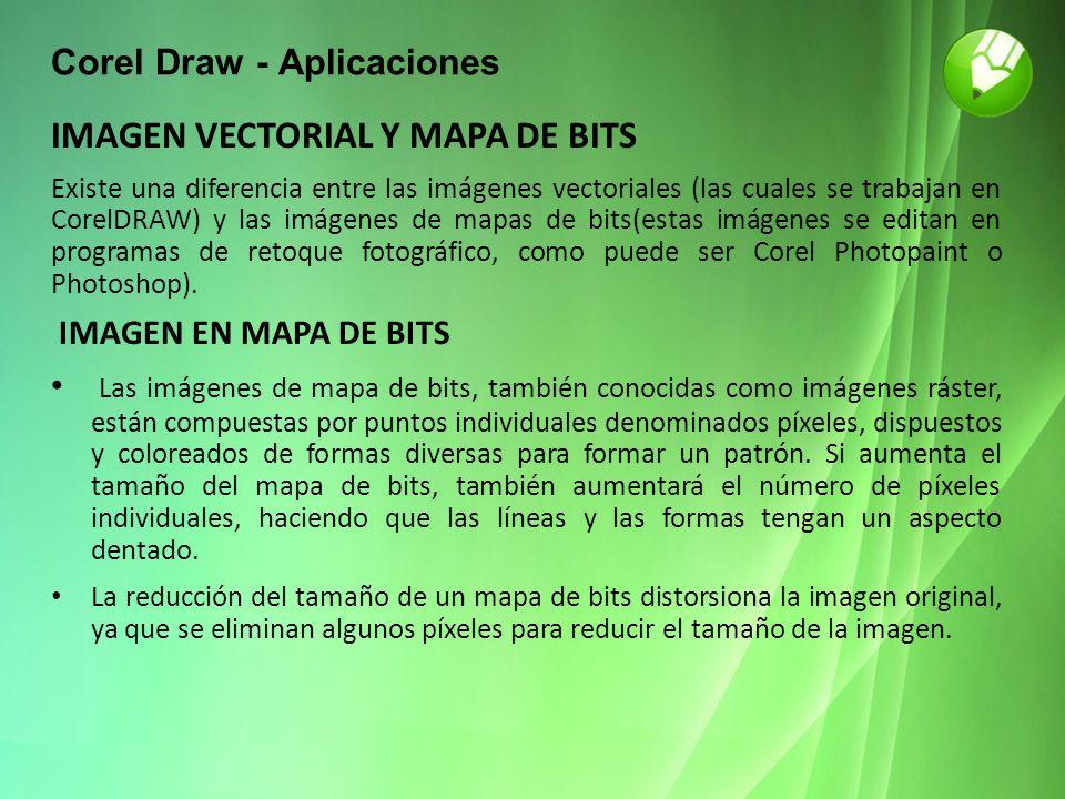 Corel Draw - Aplicaciones