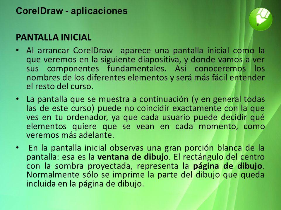 CorelDraw - aplicaciones