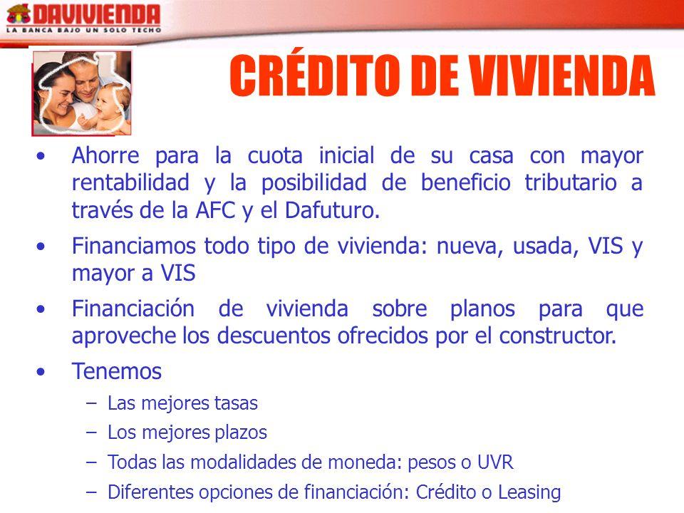 CRÉDITO DE VIVIENDA
