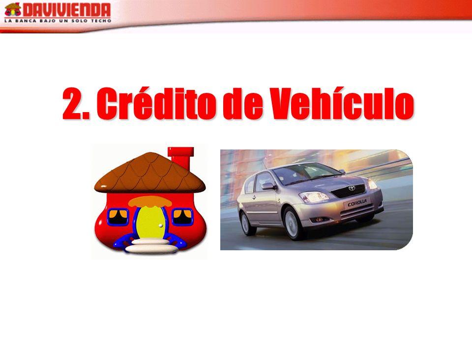 2. Crédito de Vehículo