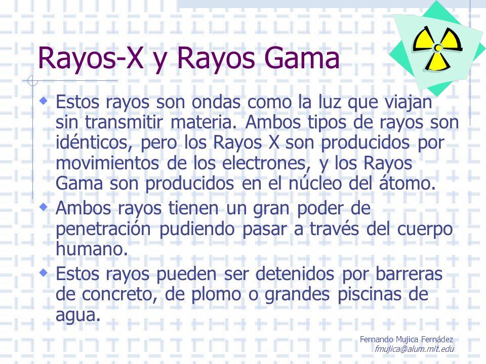 Rayos-X y Rayos Gama
