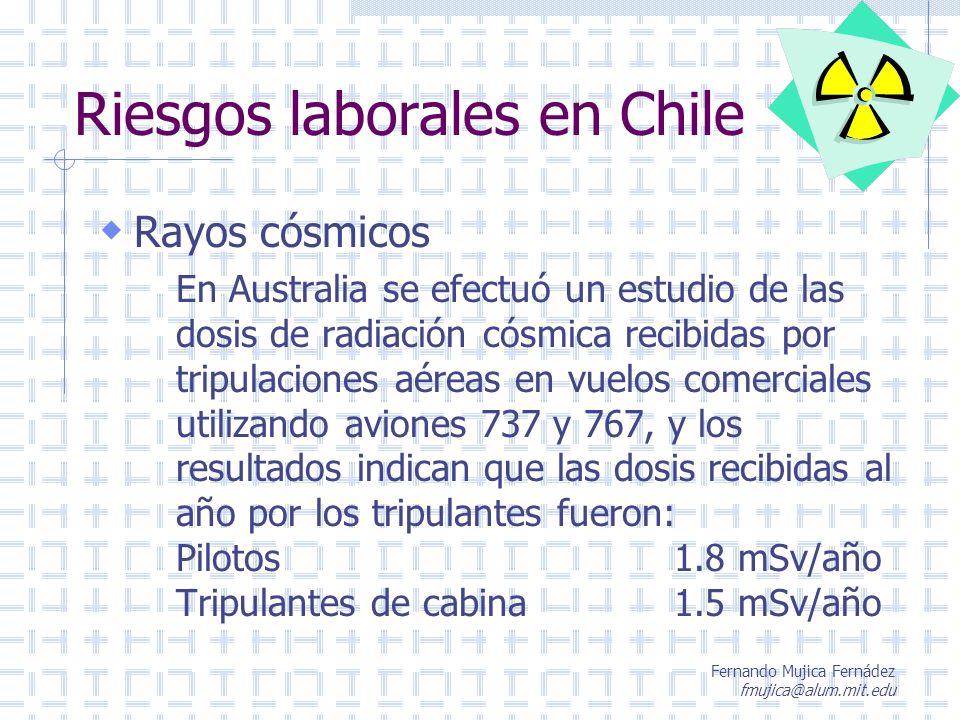 Riesgos laborales en Chile