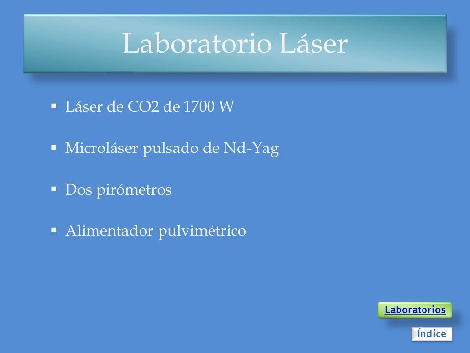 Laboratorio Láser Láser de CO2 de 1700 W Microláser pulsado de Nd-Yag