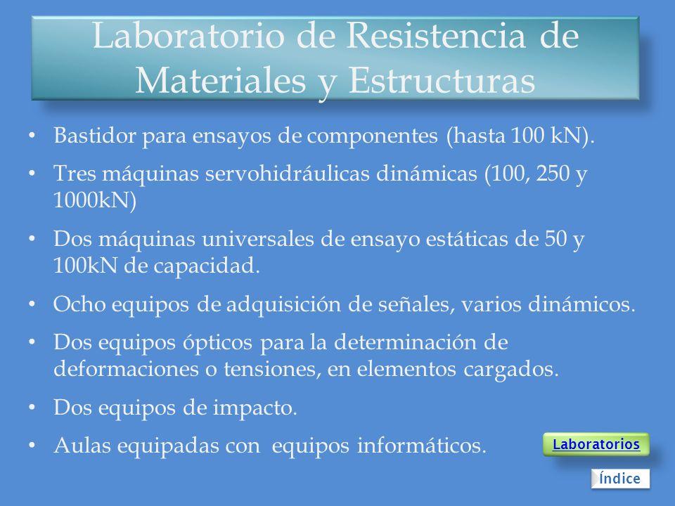 Laboratorio de Resistencia de Materiales y Estructuras