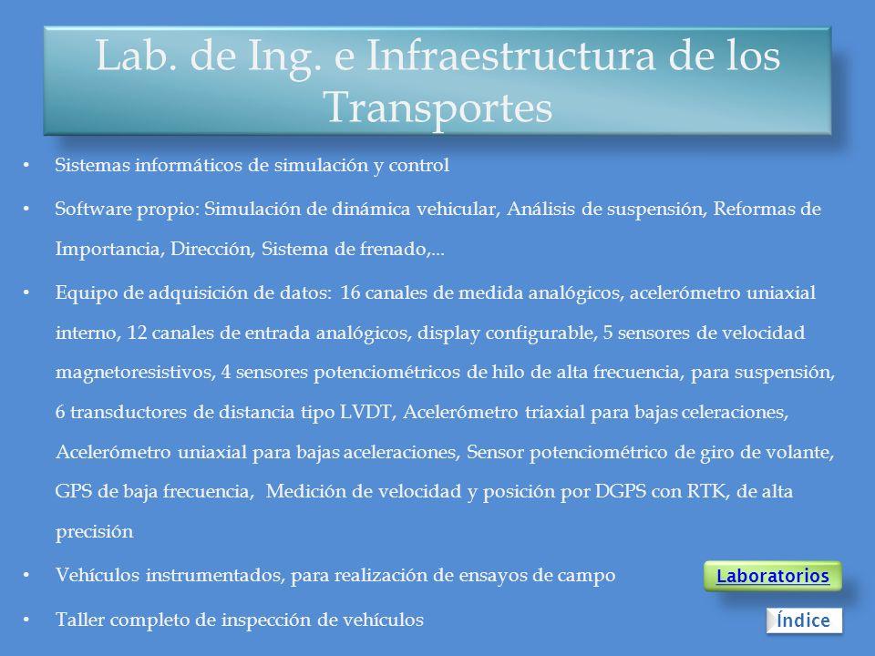 Lab. de Ing. e Infraestructura de los Transportes