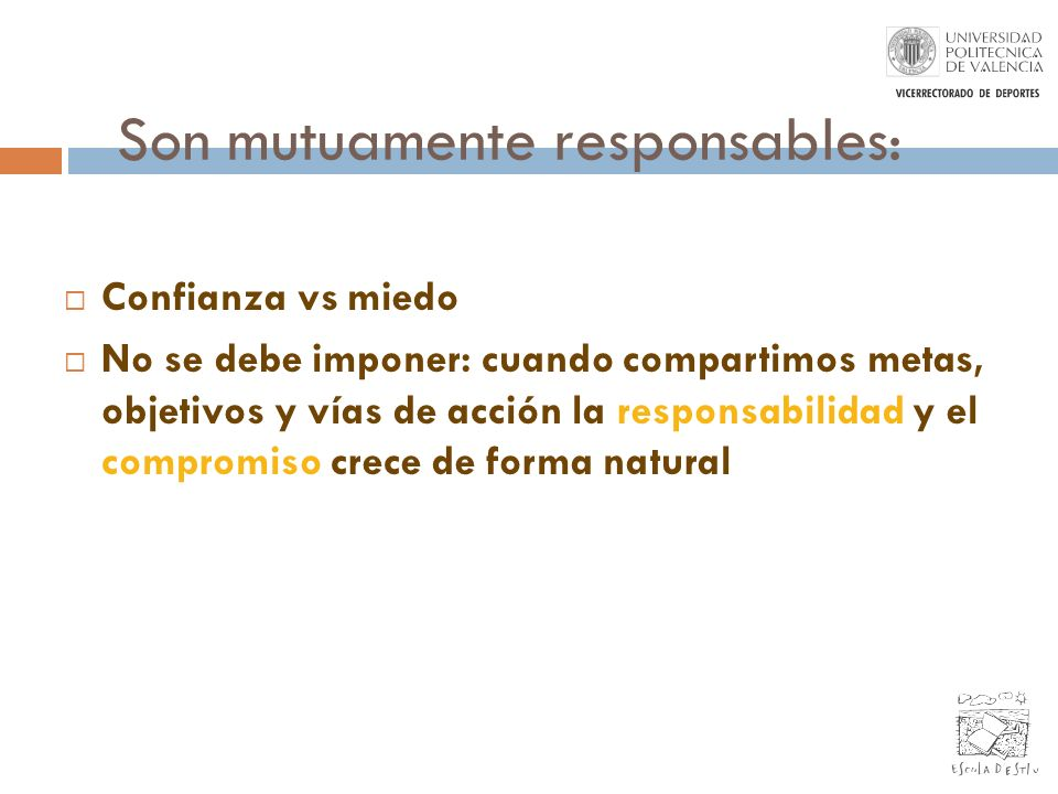 Son mutuamente responsables:
