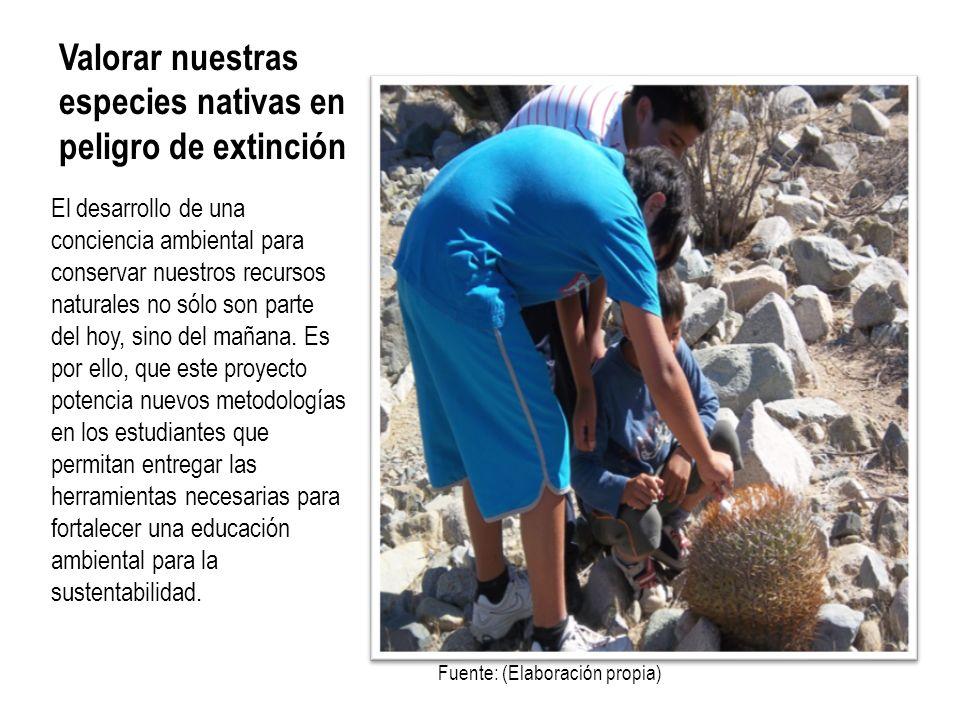 Valorar nuestras especies nativas en peligro de extinción