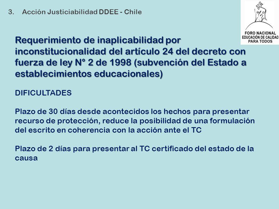 3. Acción Justiciabilidad DDEE - Chile