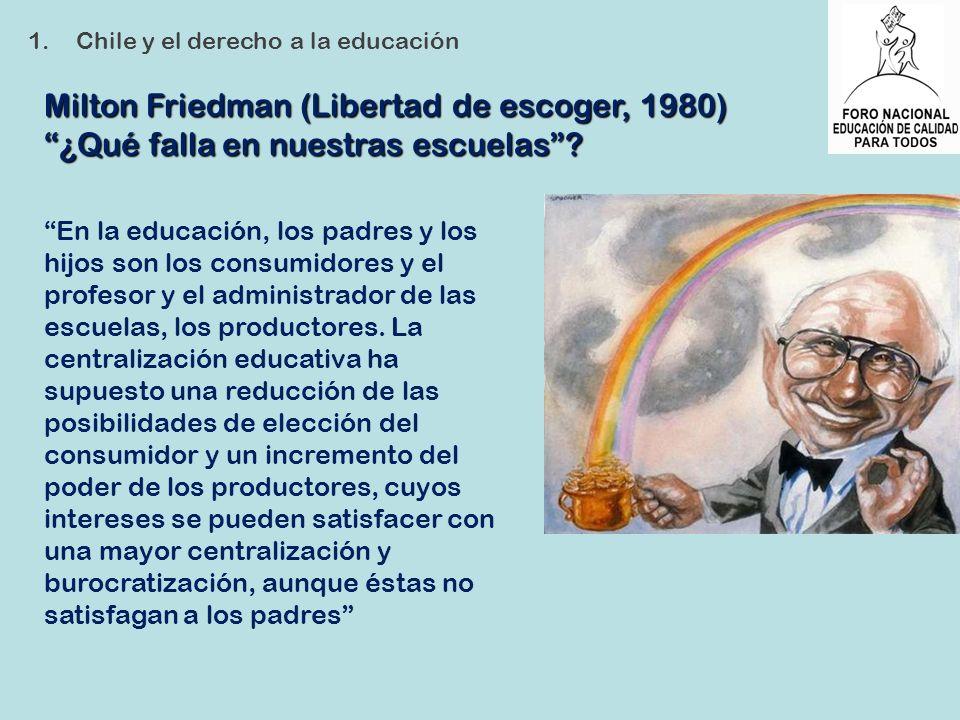 Milton Friedman (Libertad de escoger, 1980)