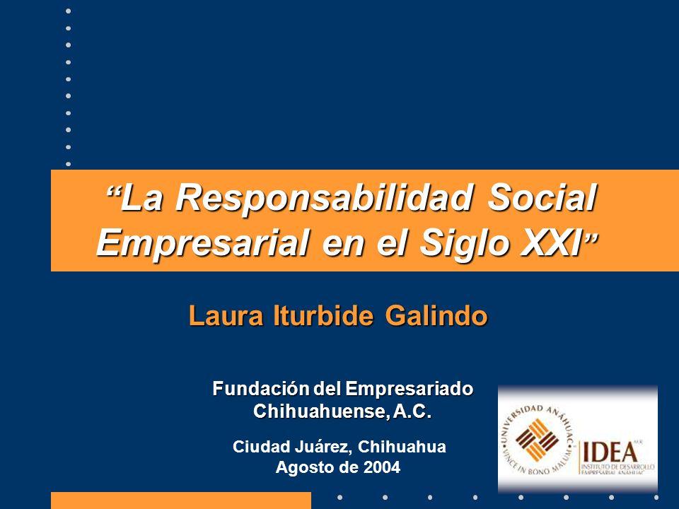 La Responsabilidad Social Empresarial en el Siglo XXI
