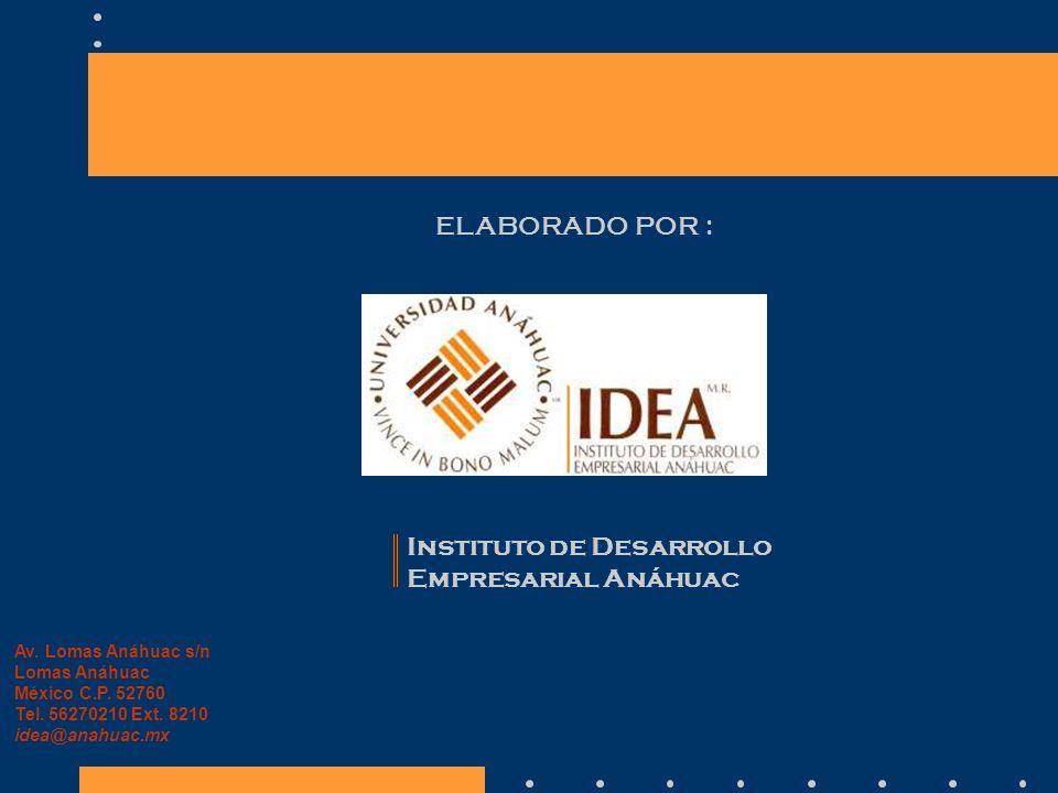 Instituto de Desarrollo Empresarial Anáhuac