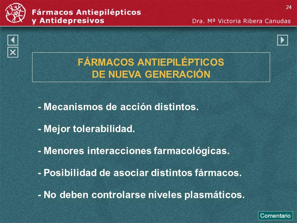 FÁRMACOS ANTIEPILÉPTICOS DE NUEVA GENERACIÓN