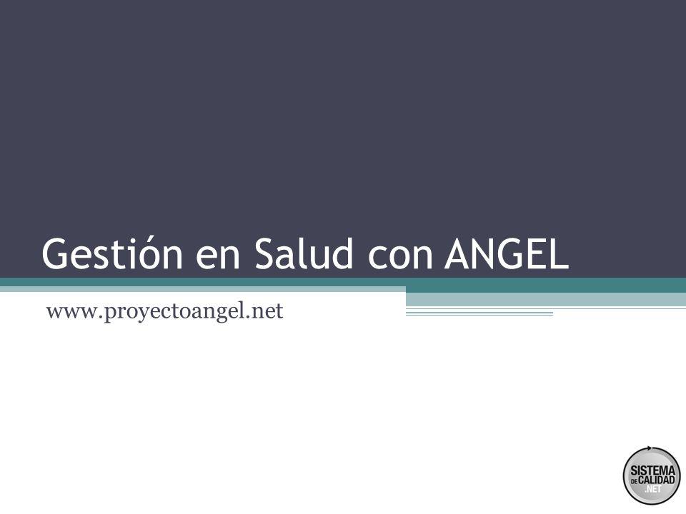 Gestión en Salud con ANGEL
