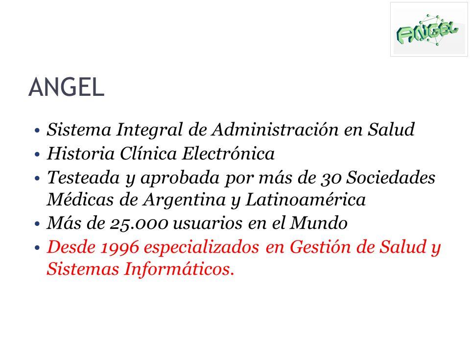 ANGEL Sistema Integral de Administración en Salud