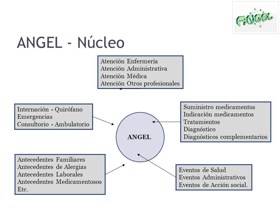 ANGEL - Núcleo Atención Enfermería Atención Administrativa