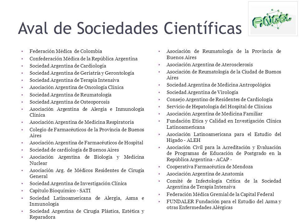 Aval de Sociedades Científicas