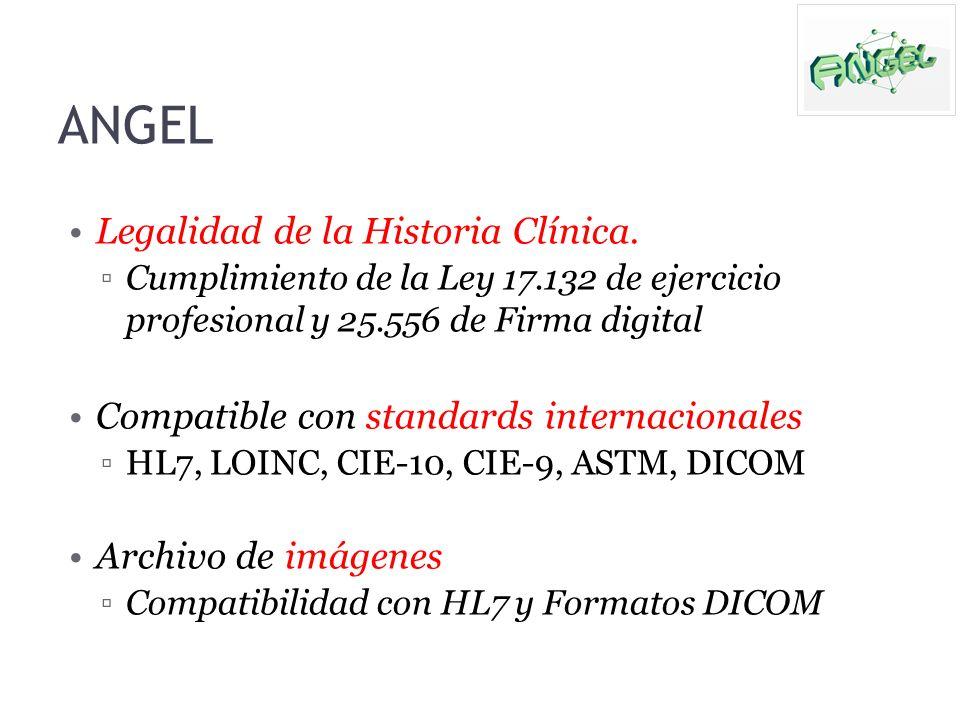 ANGEL Legalidad de la Historia Clínica.