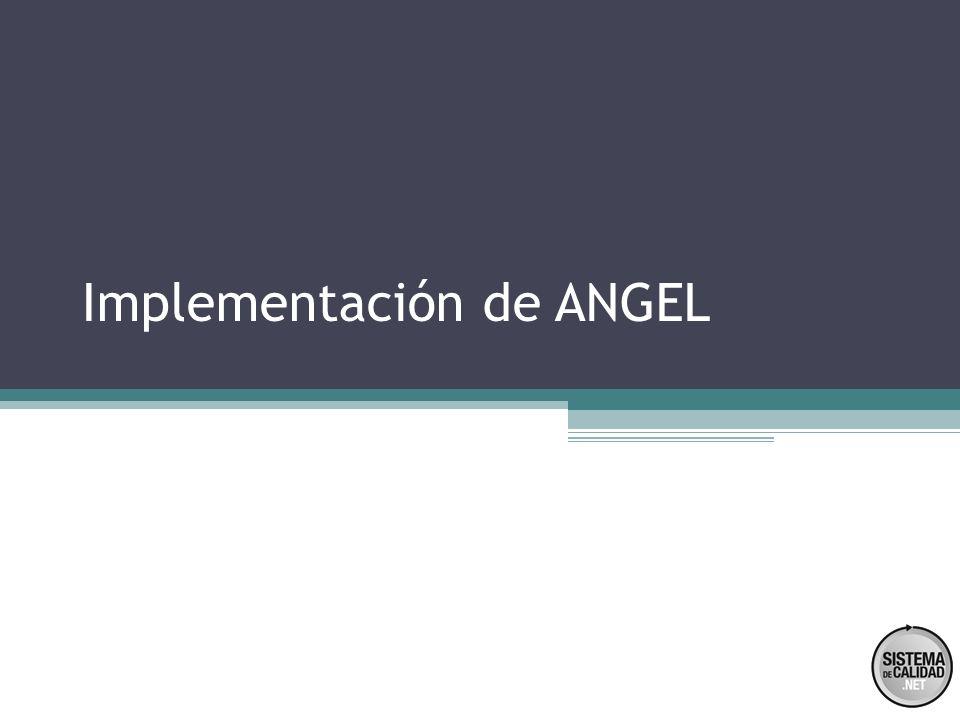 Implementación de ANGEL
