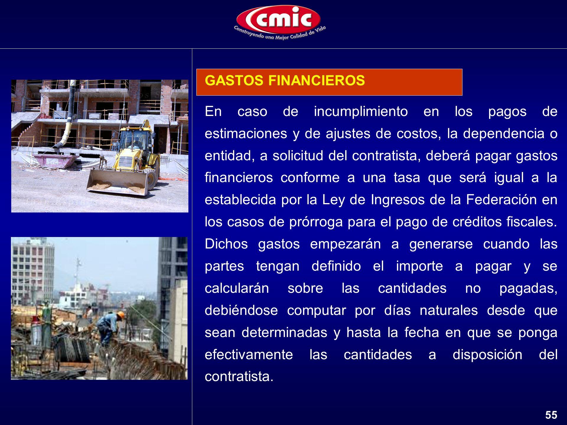 GASTOS FINANCIEROS