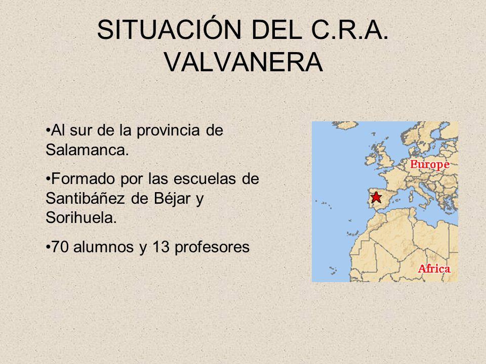SITUACIÓN DEL C.R.A. VALVANERA
