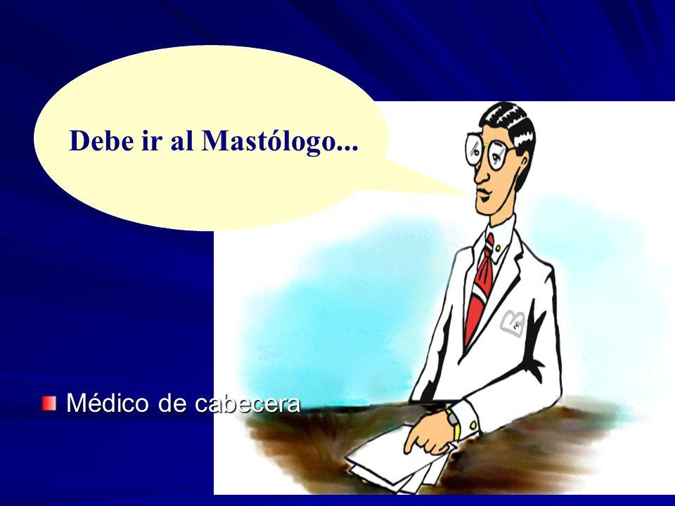 Médico de cabecera Debe ir al Mastólogo...