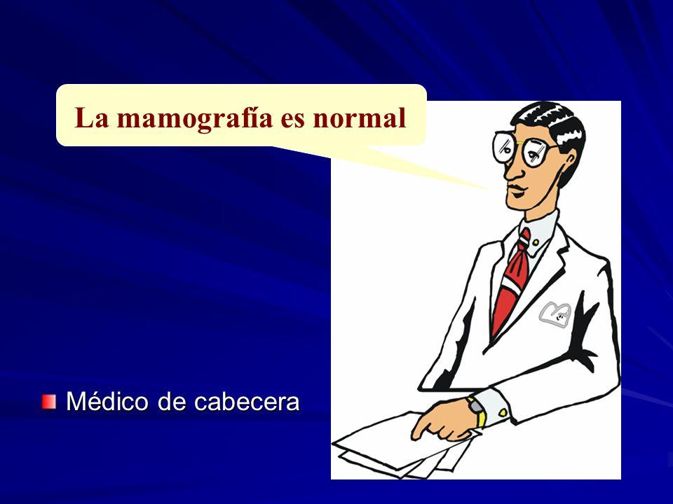 La mamografía es normal