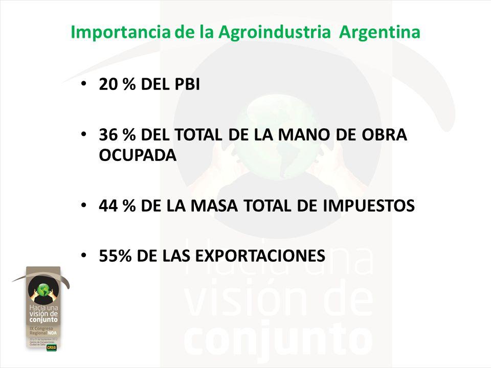 Importancia de la Agroindustria Argentina