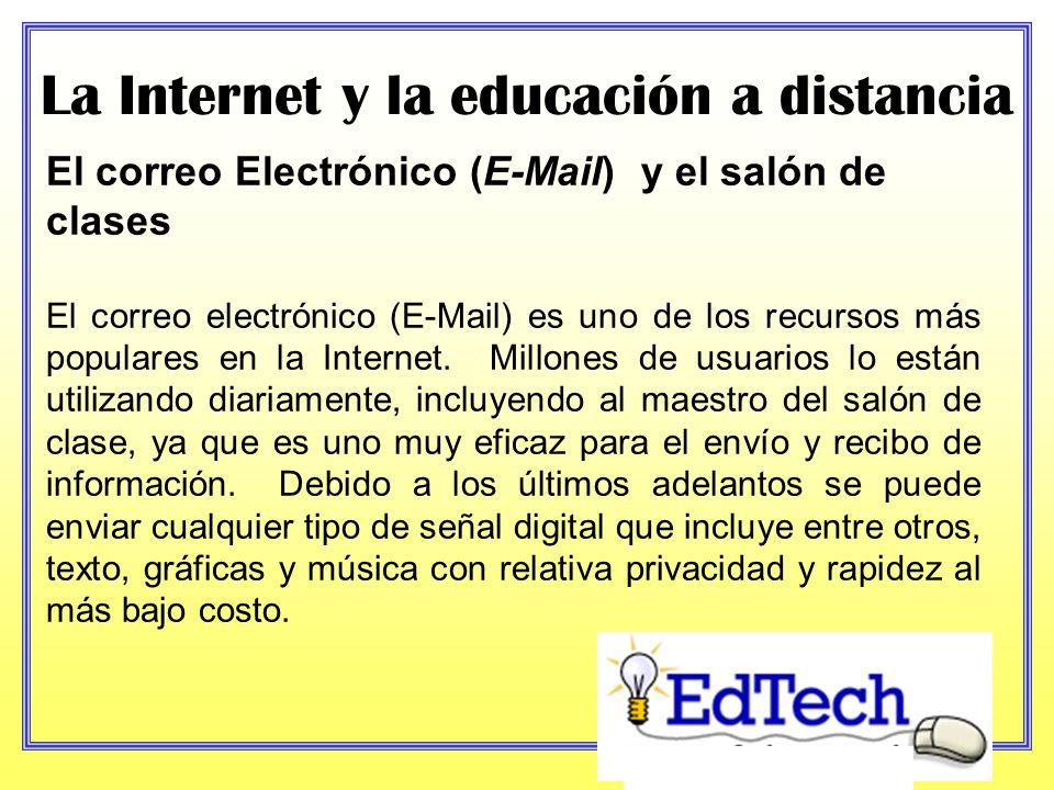 La Internet y la educación a distancia