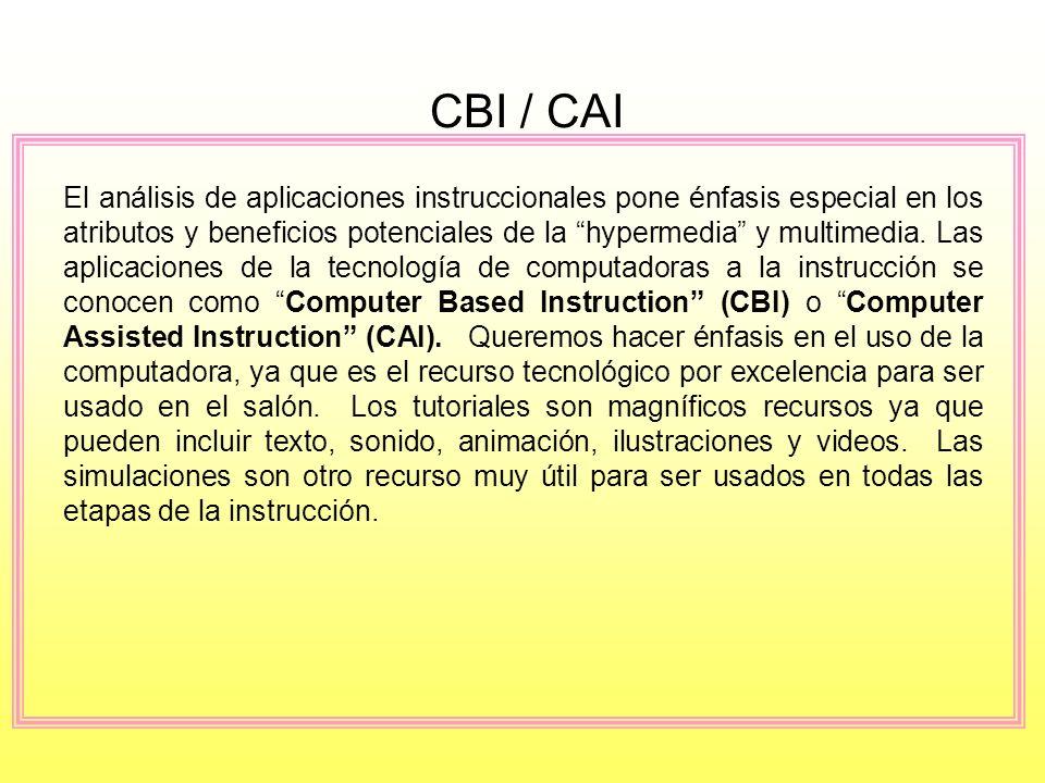 CBI / CAI