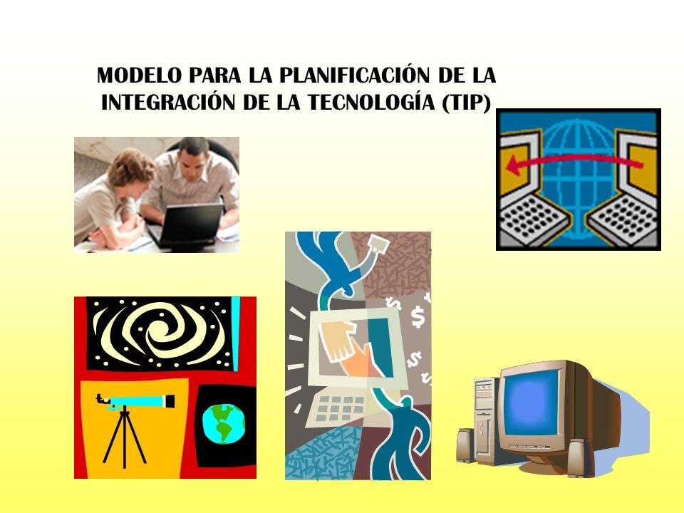 MODELO PARA LA PLANIFICACIÓN DE LA INTEGRACIÓN DE LA TECNOLOGÍA (TIP)