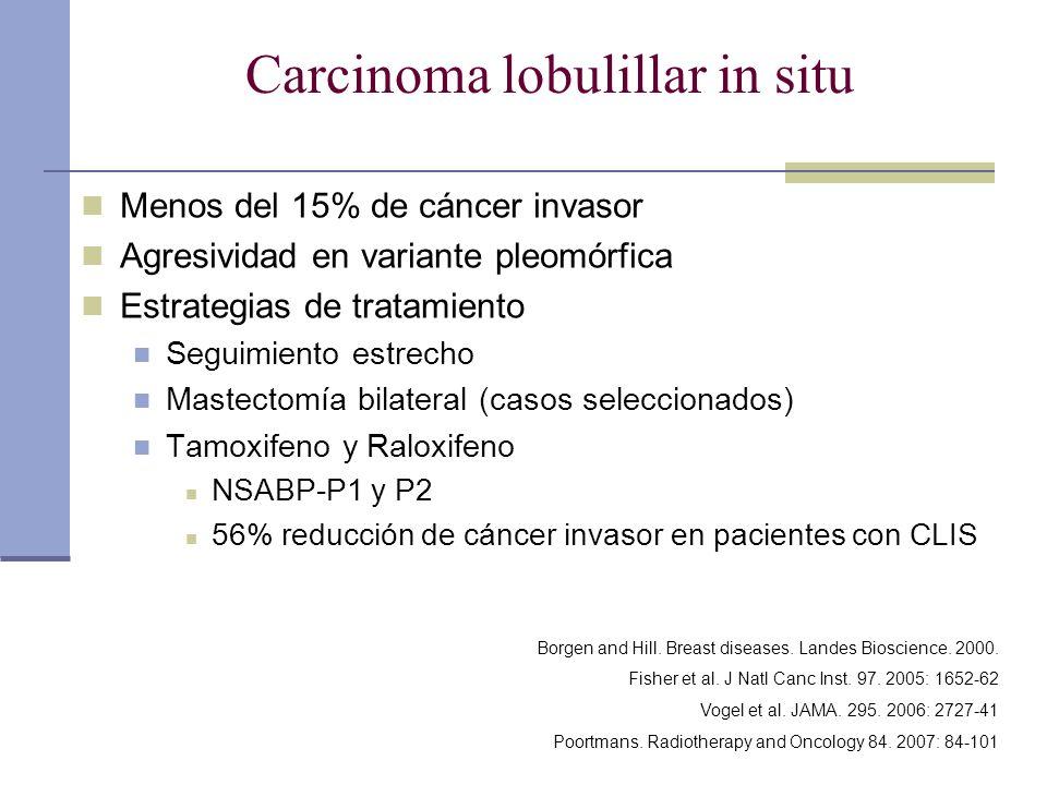 Carcinoma lobulillar in situ