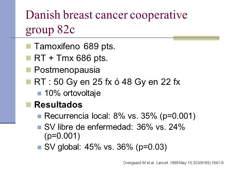Danish breast cancer cooperative group 82c
