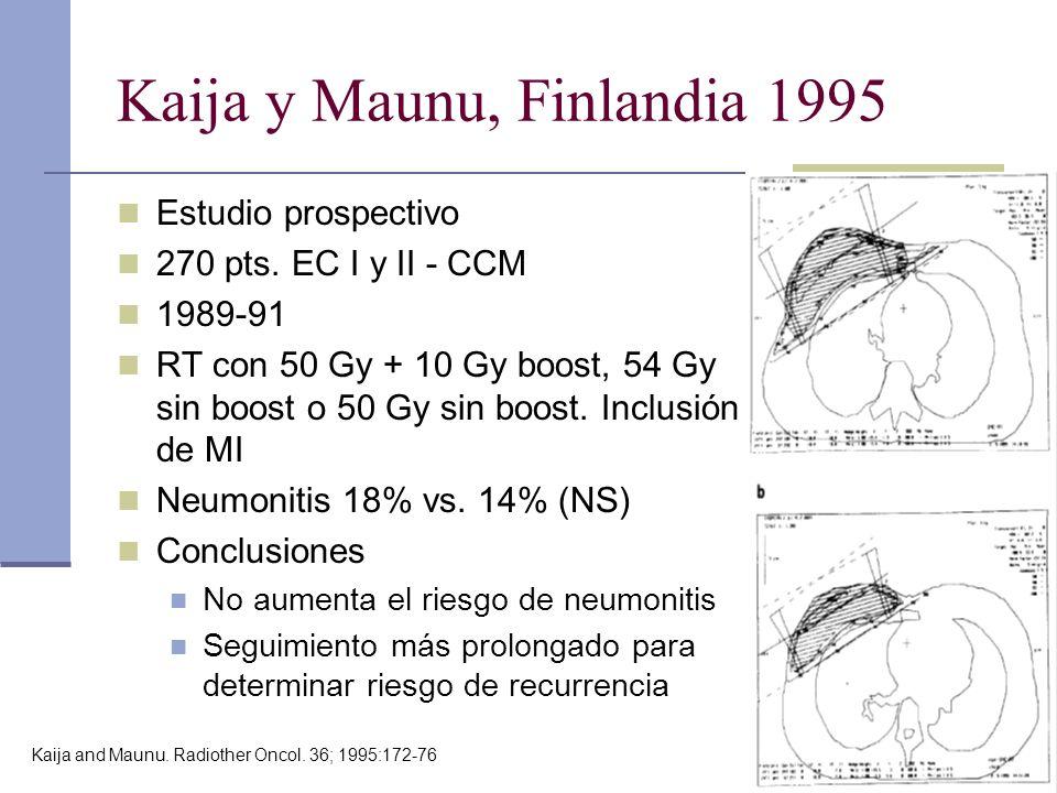 Kaija y Maunu, Finlandia 1995