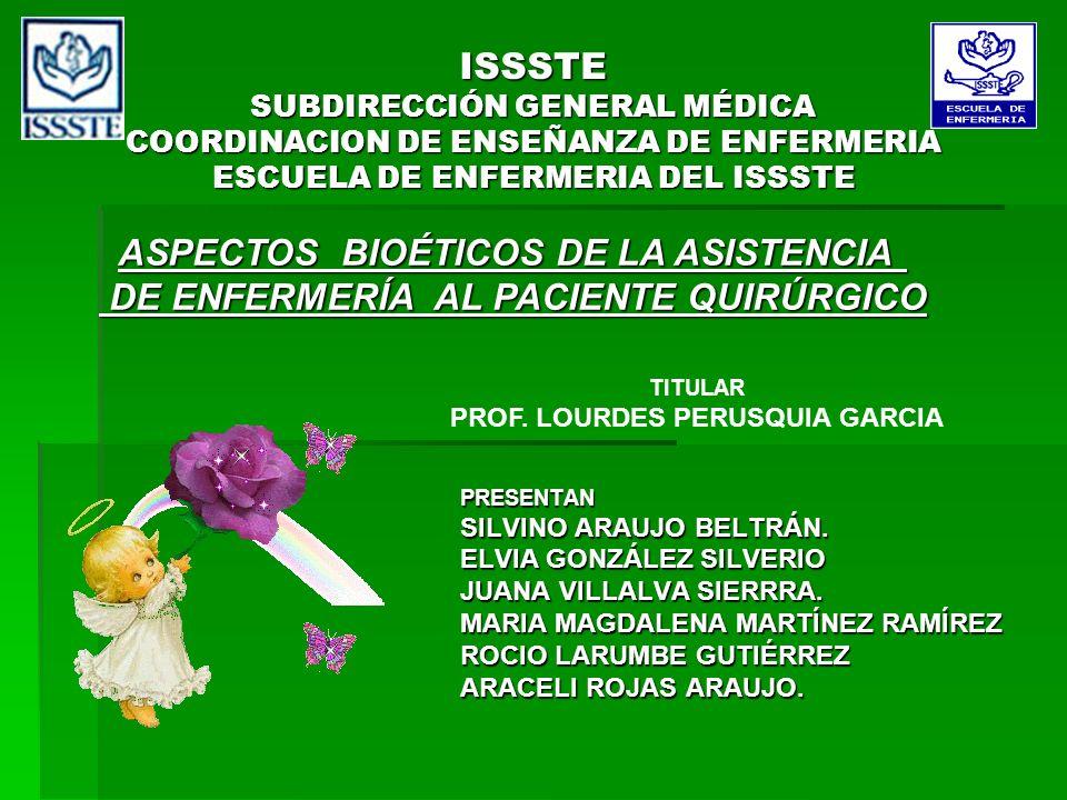 ASPECTOS BIOÉTICOS DE LA ASISTENCIA
