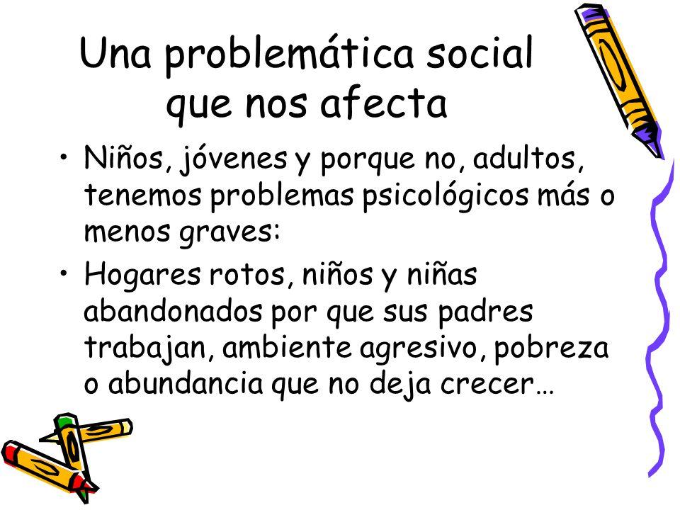 Una problemática social que nos afecta