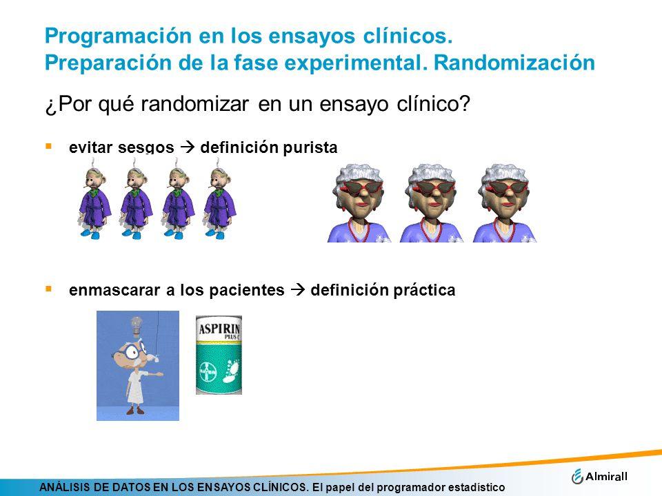 ¿Por qué randomizar en un ensayo clínico