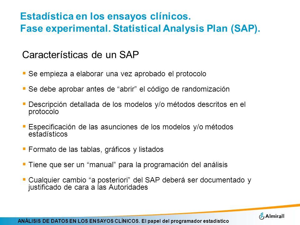 Características de un SAP