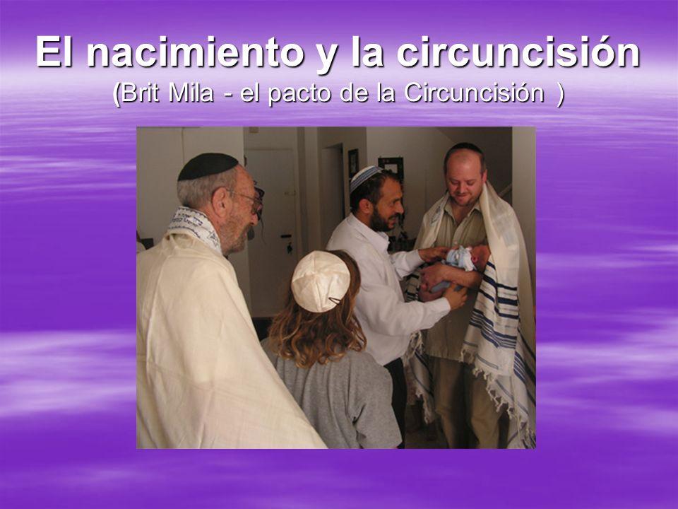 El nacimiento y la circuncisión (Brit Mila - el pacto de la Circuncisión )