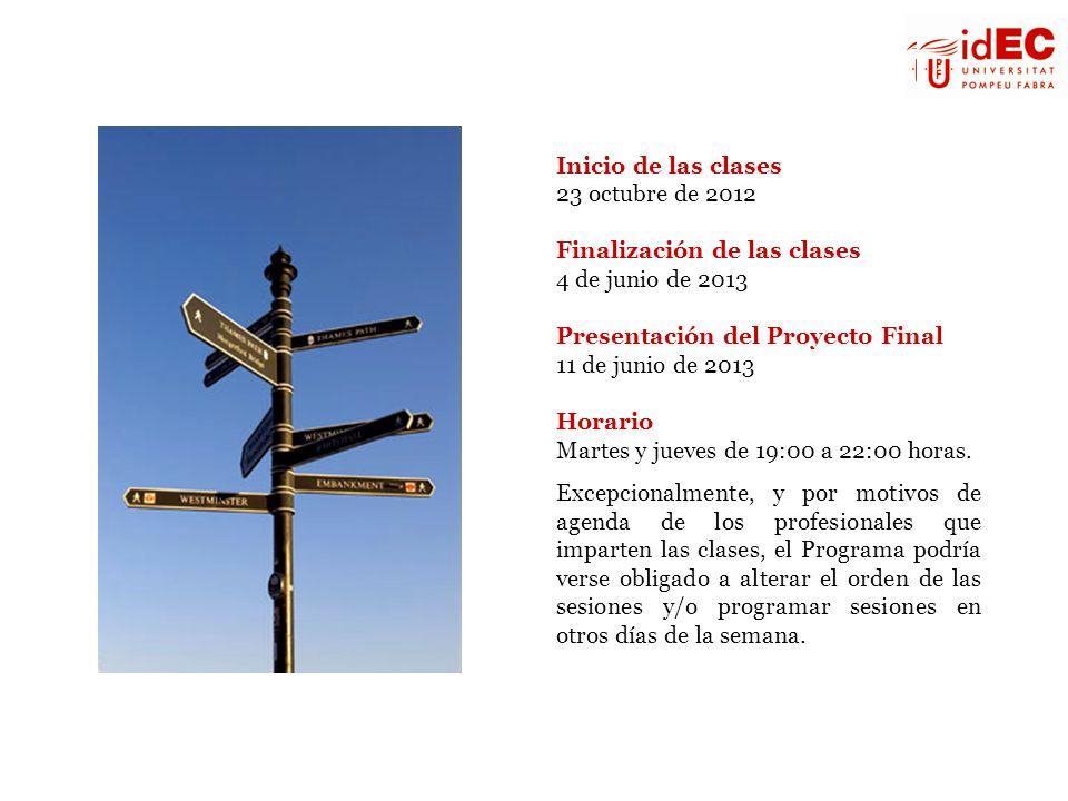 Finalización de las clases 4 de junio de 2013