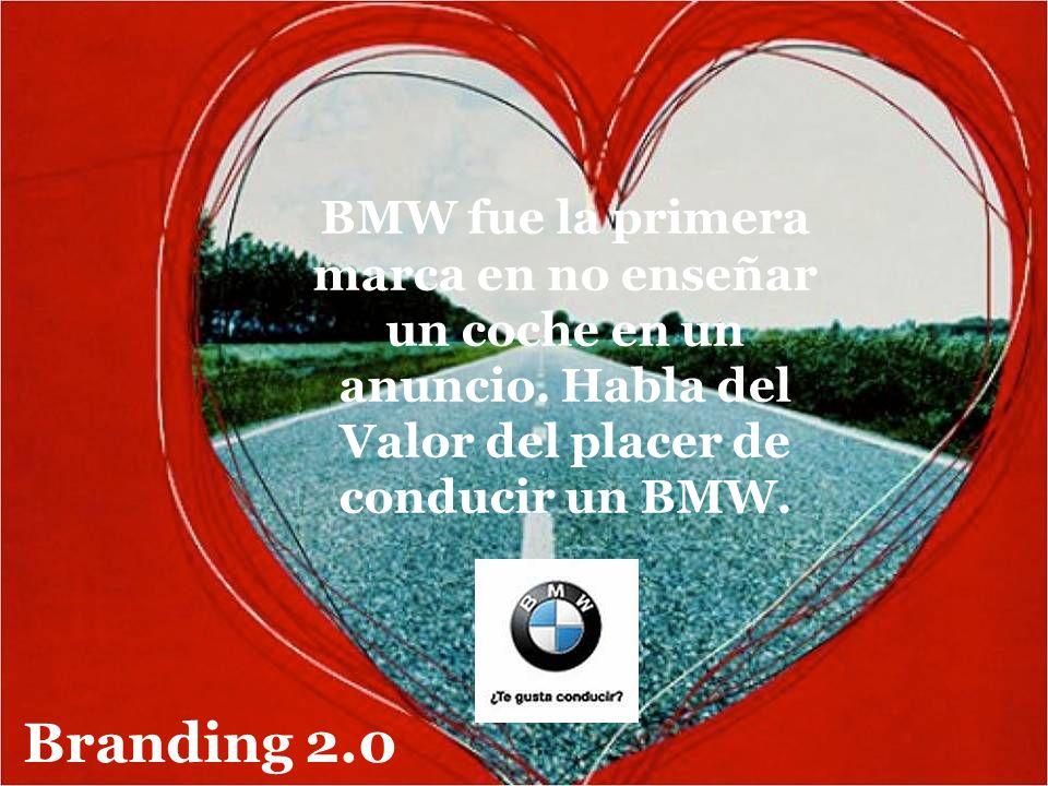 BMW fue la primera marca en no enseñar un coche en un anuncio