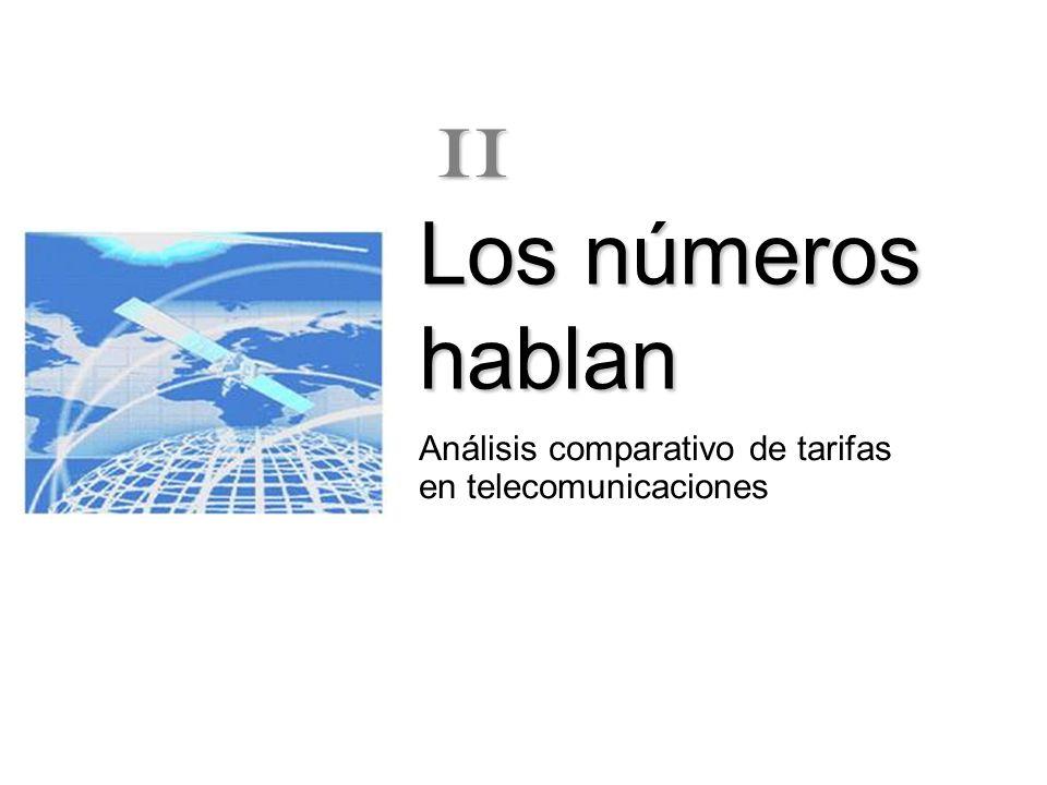 Análisis comparativo de tarifas en telecomunicaciones