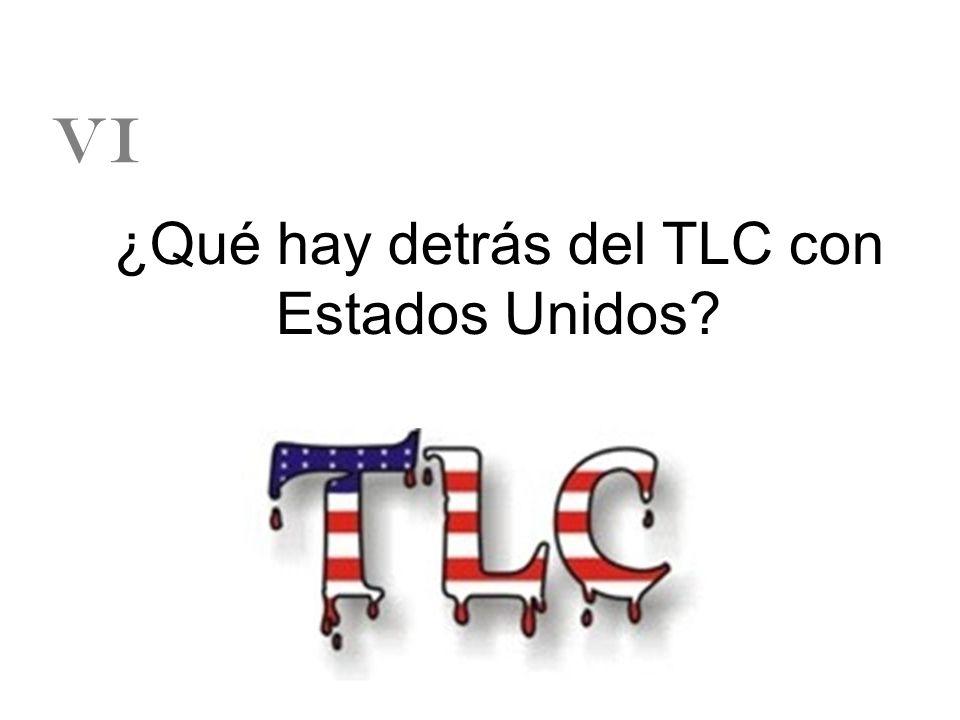 ¿Qué hay detrás del TLC con Estados Unidos