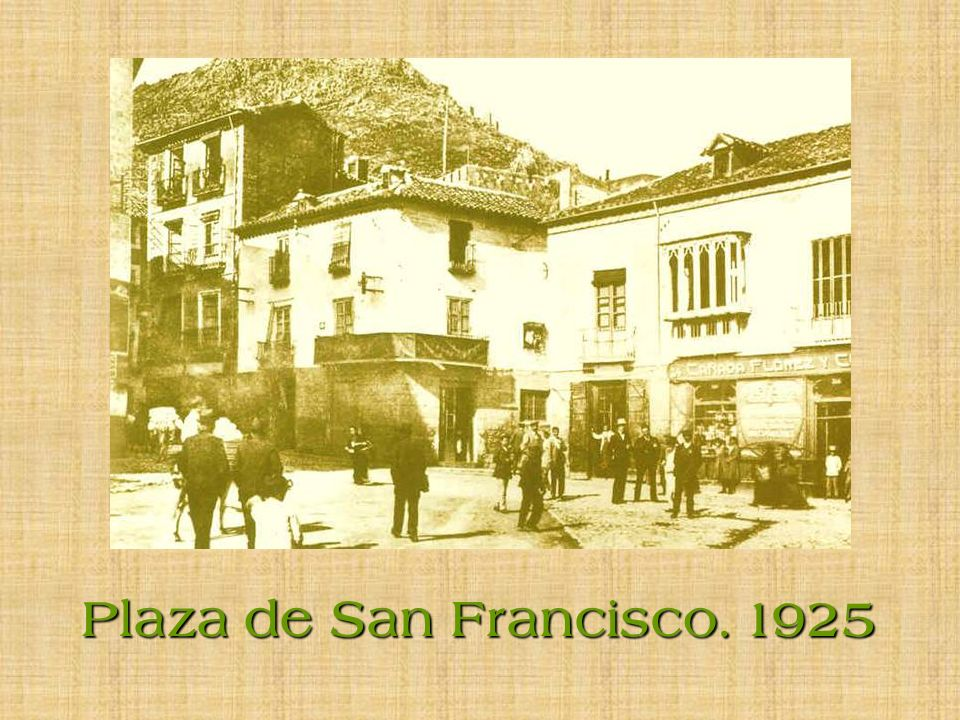 Plaza de San Francisco. 1925