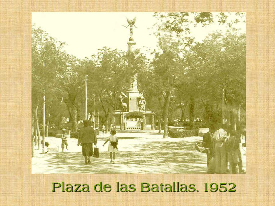 Plaza de las Batallas. 1952