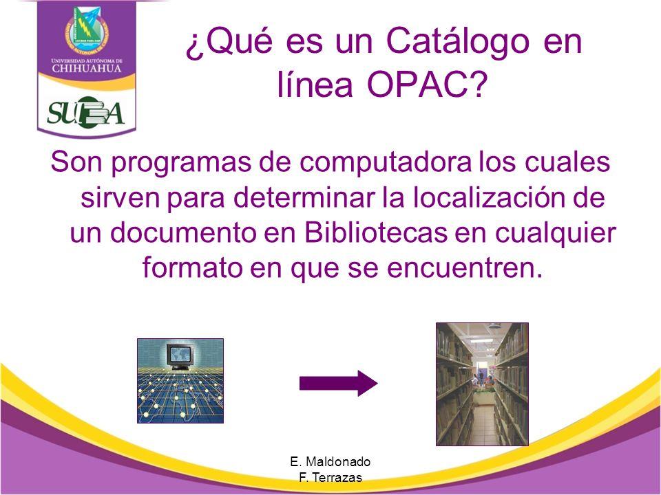 ¿Qué es un Catálogo en línea OPAC