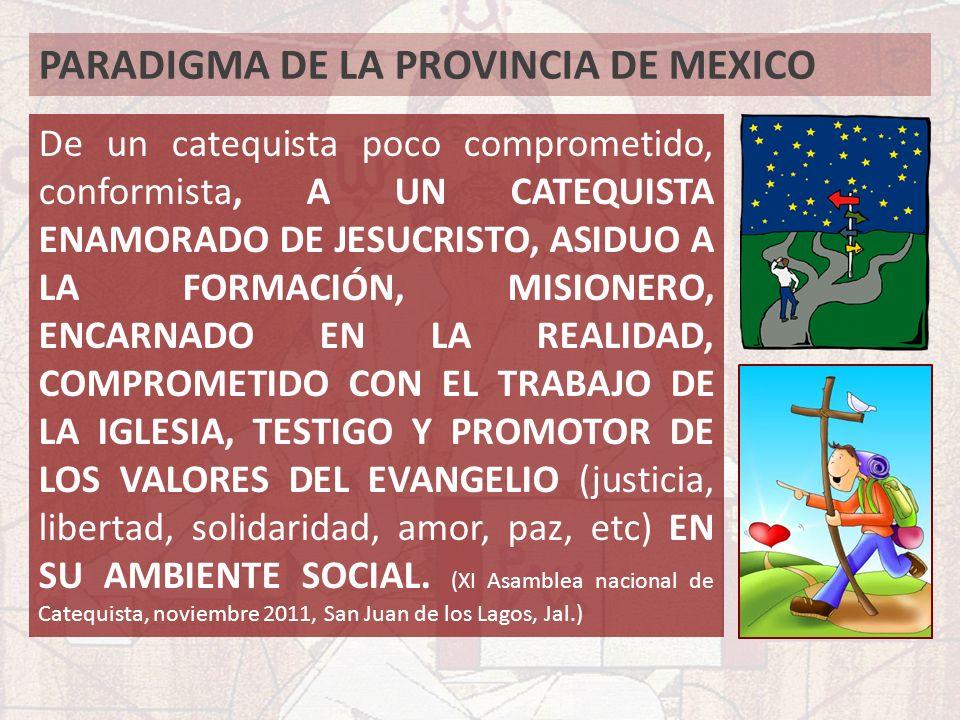 PARADIGMA DE LA PROVINCIA DE MEXICO
