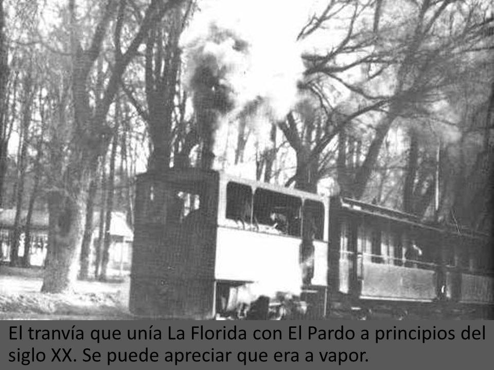 El tranvía que unía La Florida con El Pardo a principios del siglo XX