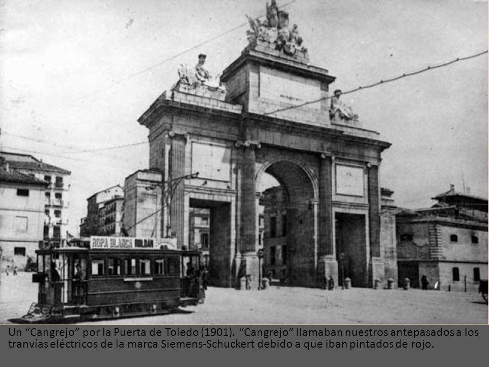 Un Cangrejo por la Puerta de Toledo (1901)