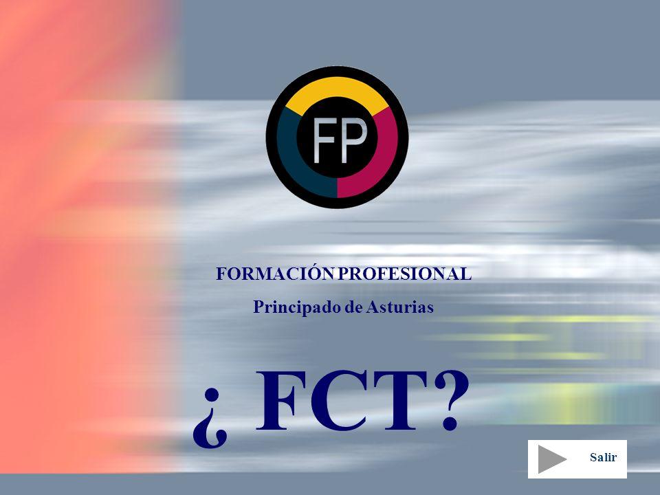 FORMACIÓN PROFESIONAL Principado de Asturias